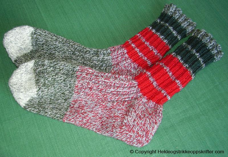 strikke-sokker