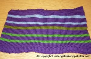 strikking teppe