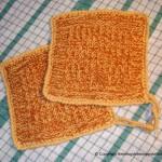 strikket grytekluter brune
