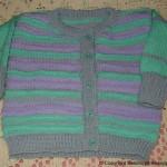 strikkejakke barn