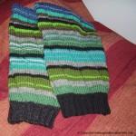 strikket leggvarmere