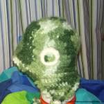 Hekle Lue 2-3 år, heklet med fleesfor