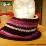 strikke hals til vinteren