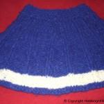 strikke poncho