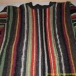 strikke jakke plantefarget garn