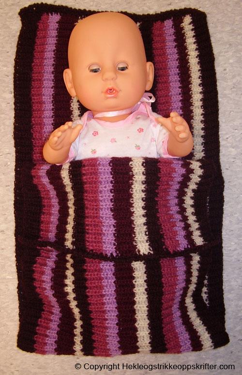 strikke til babyborn dukke