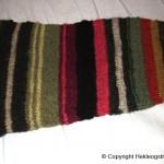 strikket jakke plantefarget garn 2