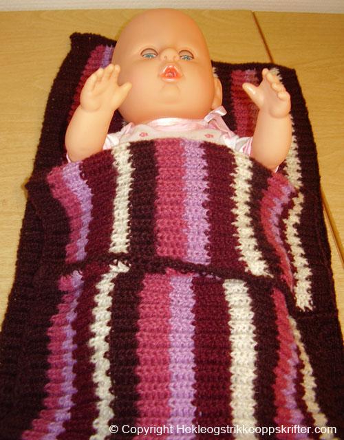 strikket sovepose