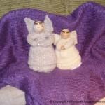 Strikkede Engler Til Julen 2010