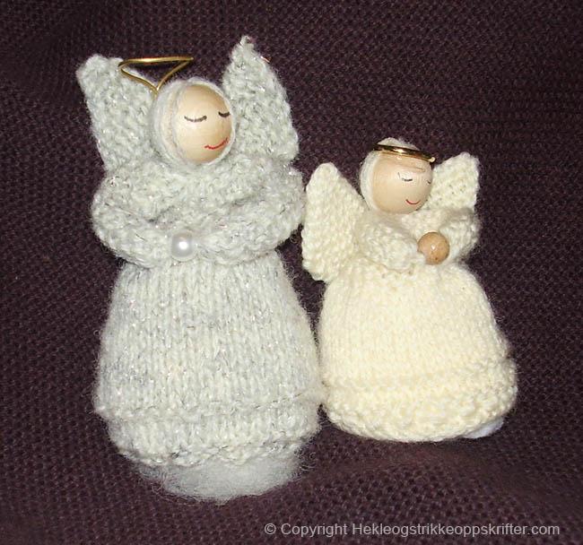 Strikkede engler
