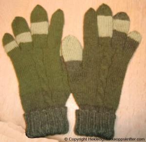fingervanter grønne