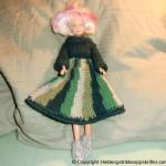 strikket barbiedukke