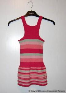 strikking kjole