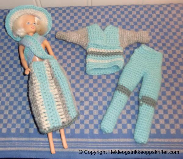 barbiedukke klær
