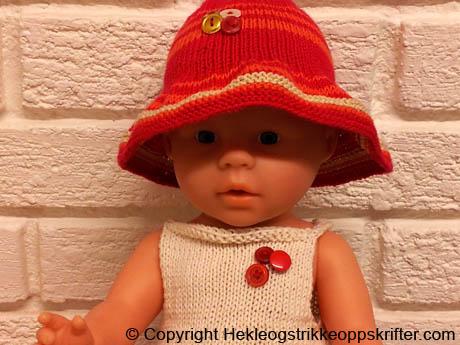 strikke hatt