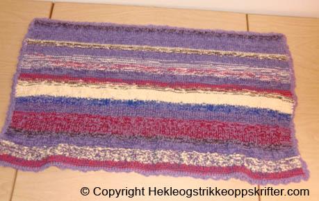 strikket-teppe