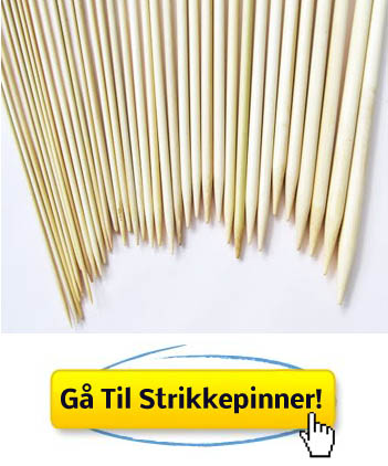 bambus strikkepinner
