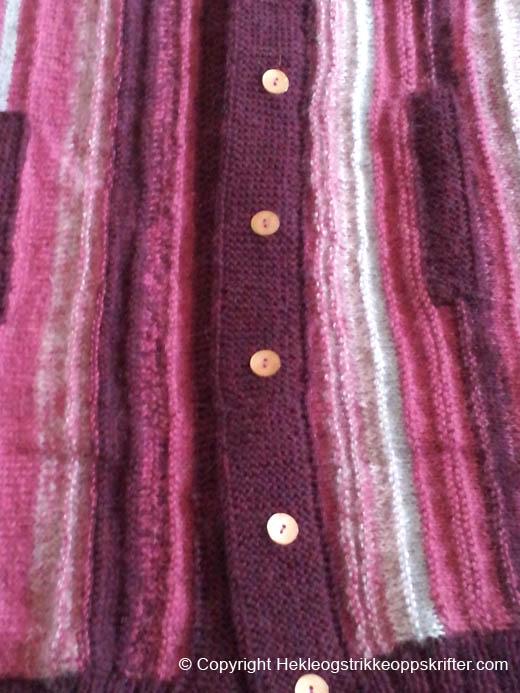 strikking-av-jakke-geitegarn