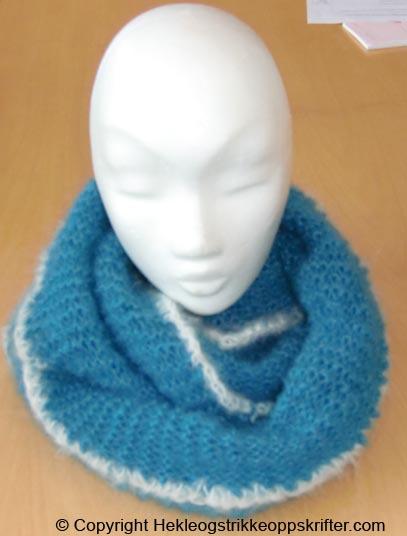 strikke hals varmer