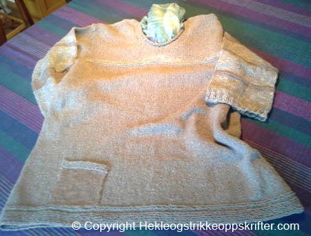 en strikka genser