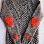 Smart tips! Lag hjerte på genseren din enkelt
