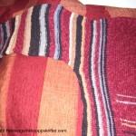 Strikking av rød genser – en forklaring på avansert strikk