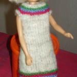 Strikke Kjole Til Barbiedukke