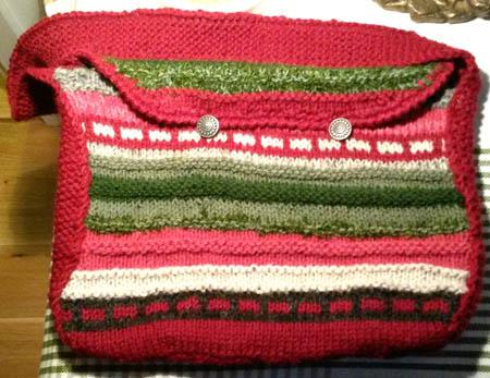 strikke veske