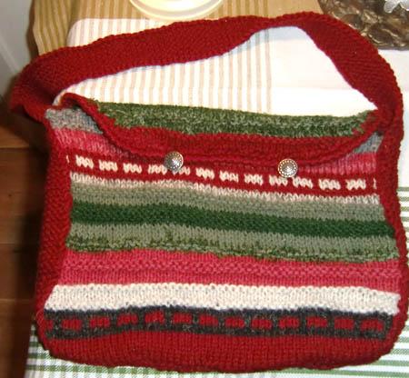 veske strikket
