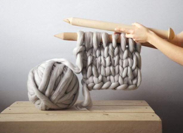 stor strikk