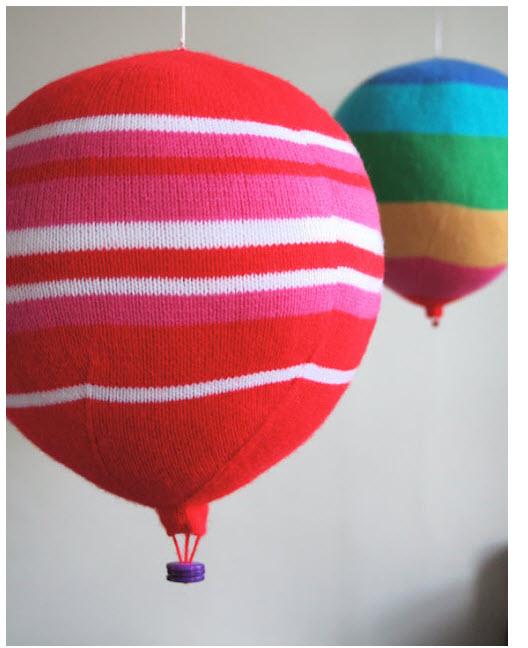 strikket luftballong