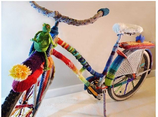 strikket-sykkel