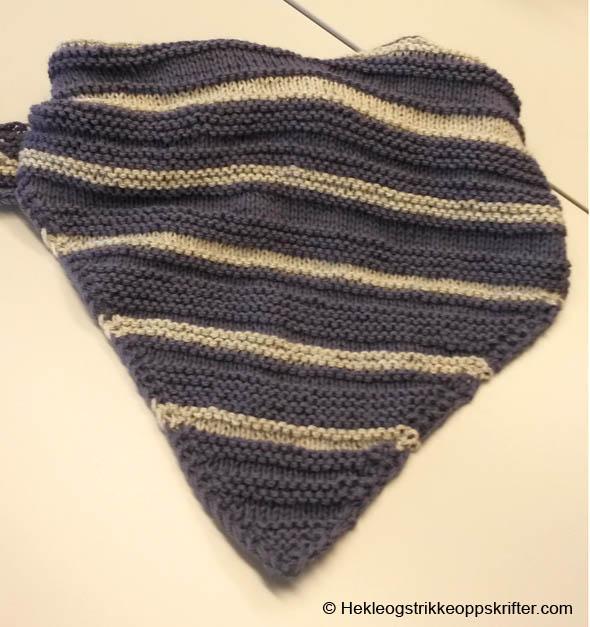 strikke sjal