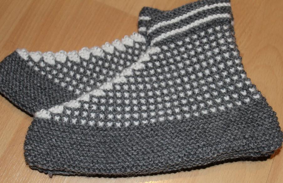 mormors sokker bosnia tøfler