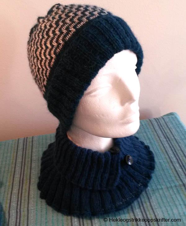 strikket-lue