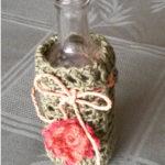 Liten Flaske Med Hekling