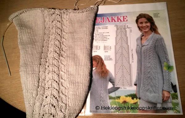strikket-jakke